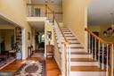 Gorgeous entrance with hand milled cherry flooring - 1188 LOST RD, MARTINSBURG