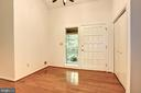 Vaulted Foyer with Double Coat Closet - 1693 ALICE CT, ANNAPOLIS
