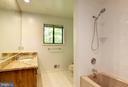 En Suite Master Bath with Granite-Topped Vanity - 1693 ALICE CT, ANNAPOLIS