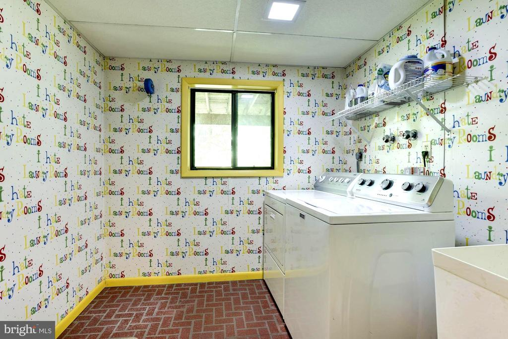 Lower Level Laundry Room with Utility Sink - 1693 ALICE CT, ANNAPOLIS