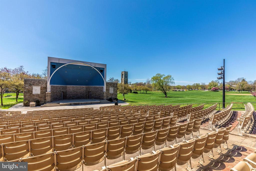 Baker Park amphitheater for great entertainment! - 137 W 3RD ST, FREDERICK