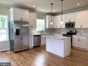 Kitchen with stainless steel appliances - 5509 C ST SE, WASHINGTON