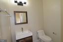 Powder room - 5509 C ST SE, WASHINGTON