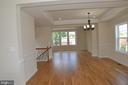Gleaming hardwood floors - 5509 C ST SE, WASHINGTON