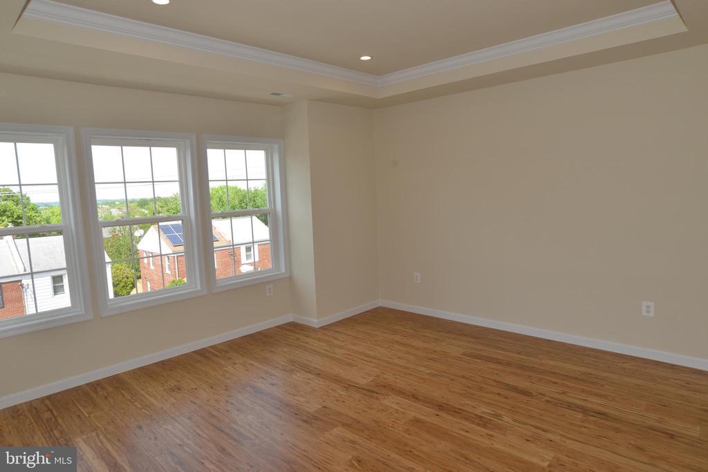 Master bedroom with three windows - 5509 C ST SE, WASHINGTON