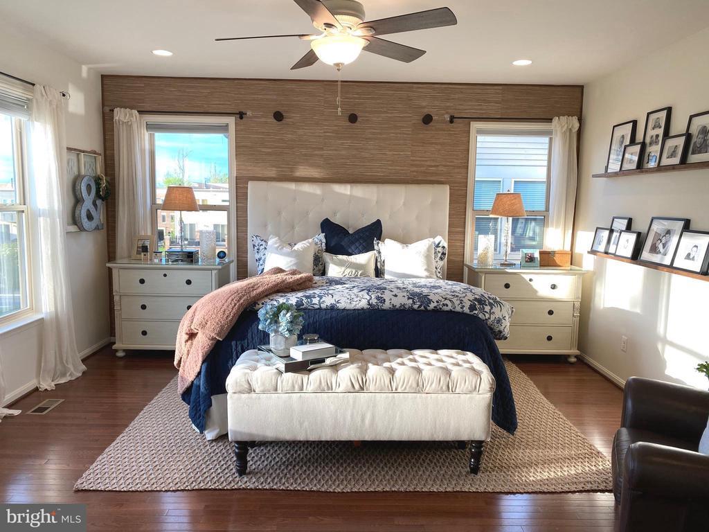Sun Filled Master Bedroom - 22912 BOLLINGER TER, BRAMBLETON
