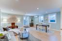 Basement living room - 517 13TH ST NE, WASHINGTON