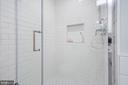 Oversized basement shower with heated floors - 517 13TH ST NE, WASHINGTON
