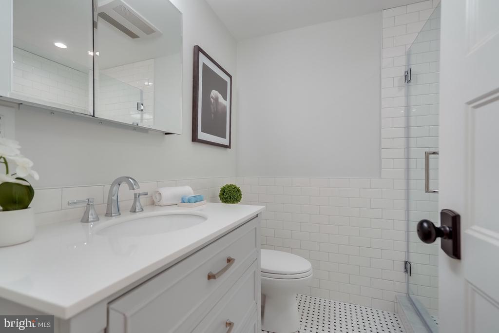 Basement Full Bathroom - 517 13TH ST NE, WASHINGTON