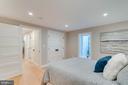 Basement bedroom with double closet - 517 13TH ST NE, WASHINGTON