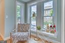 Seating area off kitchen - 517 13TH ST NE, WASHINGTON