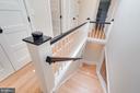 Oak Hardwood floors and stairs - 517 13TH ST NE, WASHINGTON