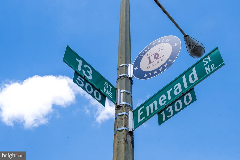 This property is part of Emerald St Historic Dis. - 517 13TH ST NE, WASHINGTON