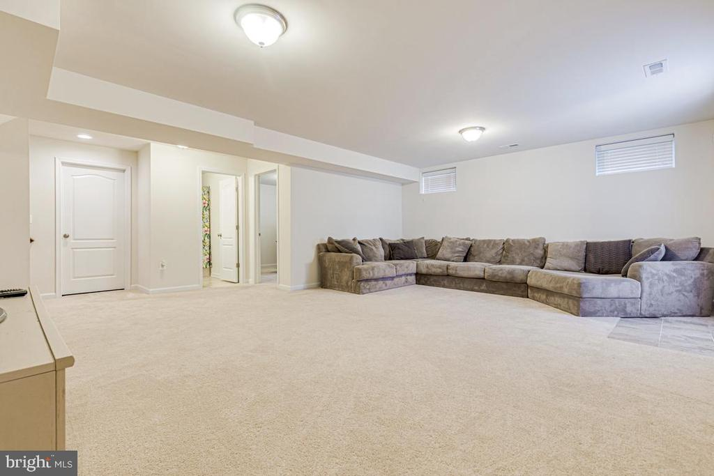 Fully Finished Basement - 450 EMBREY MILL RD, STAFFORD