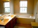 Master Bath, soaker tub - 12062 ETTA PL, BRISTOW