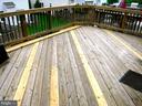 Large 234 sf deck off Kitchen/ Dining Area - 12062 ETTA PL, BRISTOW