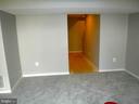 Family Room toward view of basement hallway - 12062 ETTA PL, BRISTOW