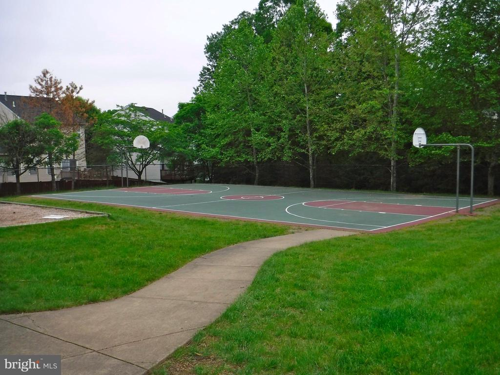 Community basketball court - 12062 ETTA PL, BRISTOW