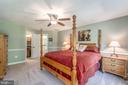 Bedroom 4 with ensuite full bathroom - 5400 LIGHTNING DR, HAYMARKET