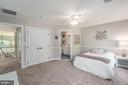 Bedroom 3 with a view of jack and Jill bathroom - 5400 LIGHTNING DR, HAYMARKET