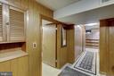 Plenty of storage - shelves & cabinets throughout. - 2401 N VERNON ST, ARLINGTON