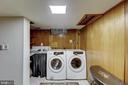 Laundry room. - 2401 N VERNON ST, ARLINGTON