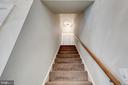 Heading upstairs. - 2401 N VERNON ST, ARLINGTON