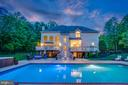 Entertain by the pool with spa, deck & fire pit - 5400 LIGHTNING DR, HAYMARKET