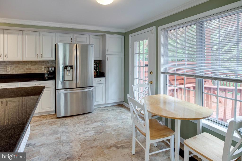 Eat-In Kitchen with Breakfast Area - 1542 DEER POINT WAY, RESTON