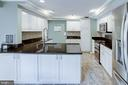 Remodeled Kitchen with Ample Cabinetry - 1542 DEER POINT WAY, RESTON