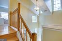 Upper Level with Gleaming Hardwood Floors - 1542 DEER POINT WAY, RESTON