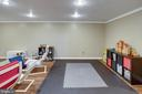 Recreation Room with Recessed Lighting - 1542 DEER POINT WAY, RESTON