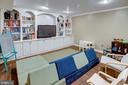 Expansive Recreation Room - 1542 DEER POINT WAY, RESTON