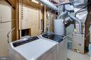 Lower Level Laundry/Utility Room - 1542 DEER POINT WAY, RESTON