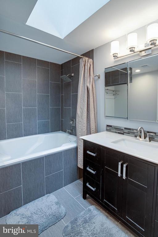 Master Bathroom with Skylight - 1542 DEER POINT WAY, RESTON