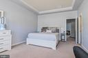 Master Bedroom with walk-in closet - 22944 ROSE QUARTZ SQ, BRAMBLETON