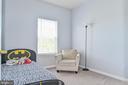 Bedroom 3 with closet - 22944 ROSE QUARTZ SQ, BRAMBLETON