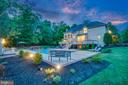 Spectacular pool and grounds backing to a trees - 5400 LIGHTNING DR, HAYMARKET