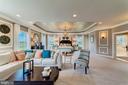 Separate living space in owner's suite - 14732 RAPTOR RIDGE WAY, LEESBURG