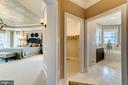 Dual walk-in closets and master bath - 14732 RAPTOR RIDGE WAY, LEESBURG