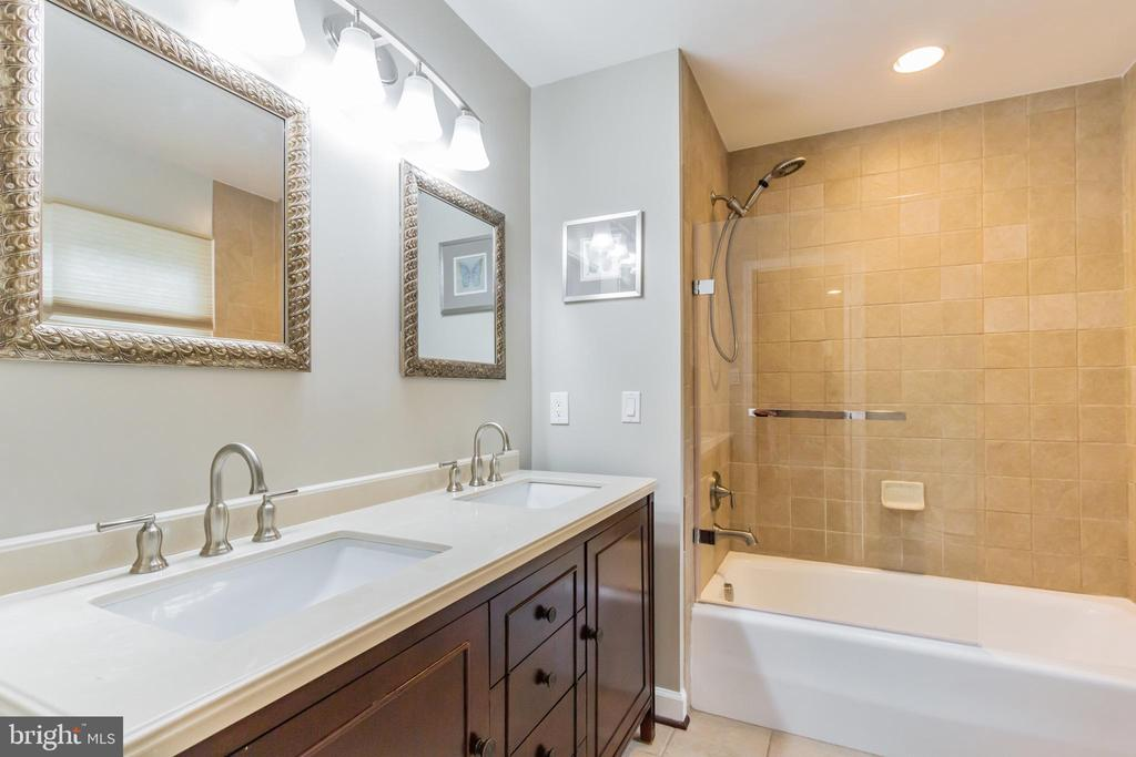 Second Master Bedroom (updated) Bathroom - 7613 DWIGHT DR, BETHESDA