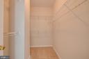 Master Walk-in Closet - 13335 TIVOLI FOUNTAIN CT, GERMANTOWN