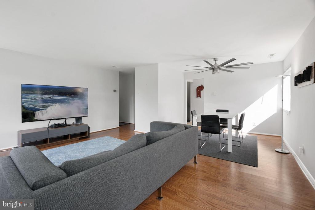 Living Room (3 of 3) - 10100 LITTLE POND PL #1, MONTGOMERY VILLAGE