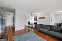 Living Room (2 of 3) - 10100 LITTLE POND PL #1, MONTGOMERY VILLAGE