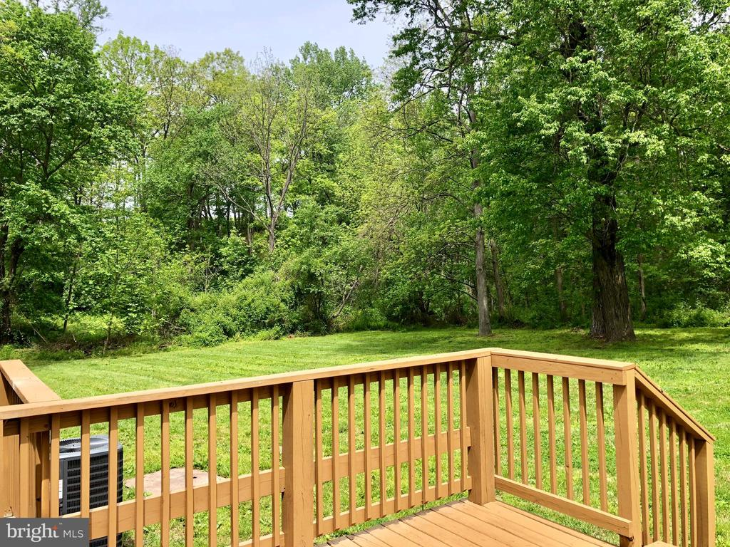 EXTERIOR DECK VIEW - 10826 OLD ANNAPOLIS RD, FREDERICK