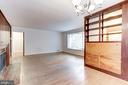 Another interior perspective - 4625 EDGEFIELD RD, BETHESDA