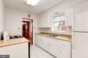 Another perspective of the kitchen - 4625 EDGEFIELD RD, BETHESDA