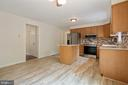 Recent updated Kitchen with newer Floors - 16194 SHEFFIELD DR, DUMFRIES