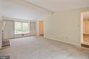 Great Room with built-in shelves - 16194 SHEFFIELD DR, DUMFRIES