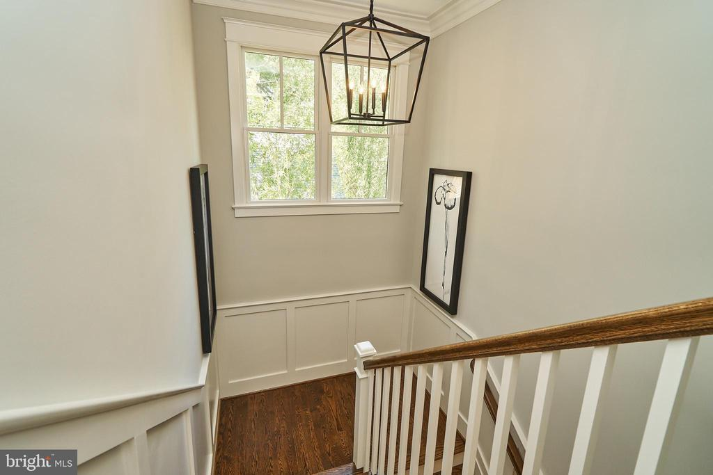 Stairs to loft - Same model, different location - 3526 N OHIO ST, ARLINGTON